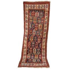 19th Century Antique Kazak Carpet