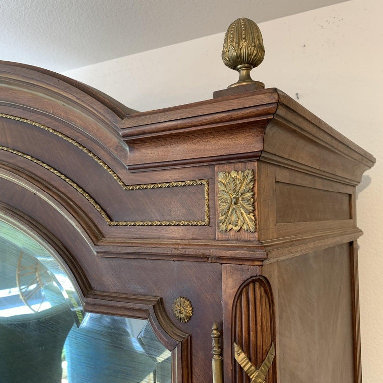 19th Century, Antique Mirror Front French Armoire For Sale ...