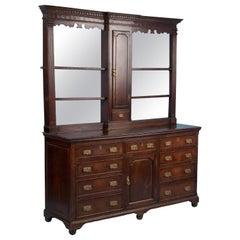 19th Century Antique Oak Welsh Dresser, Buffet