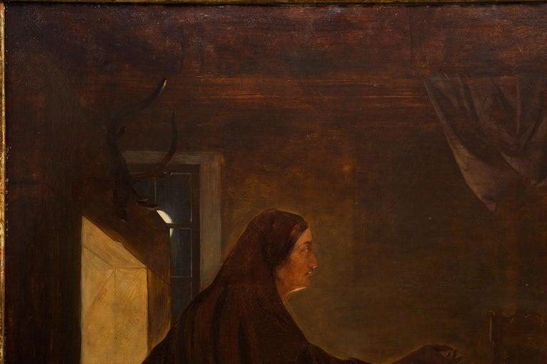 Romantic 19th Century Antique Painting