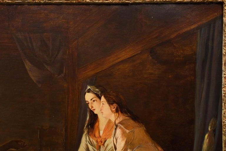 British 19th Century Antique Painting