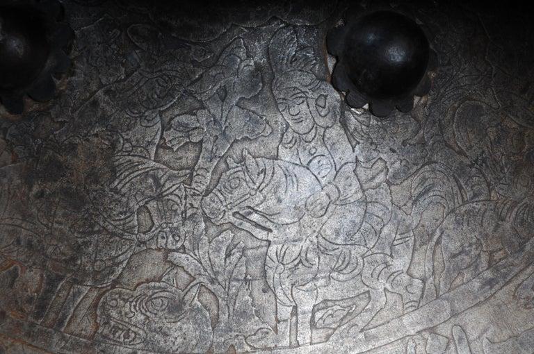 19th Century Antique Persian Battle Shield For Sale 6