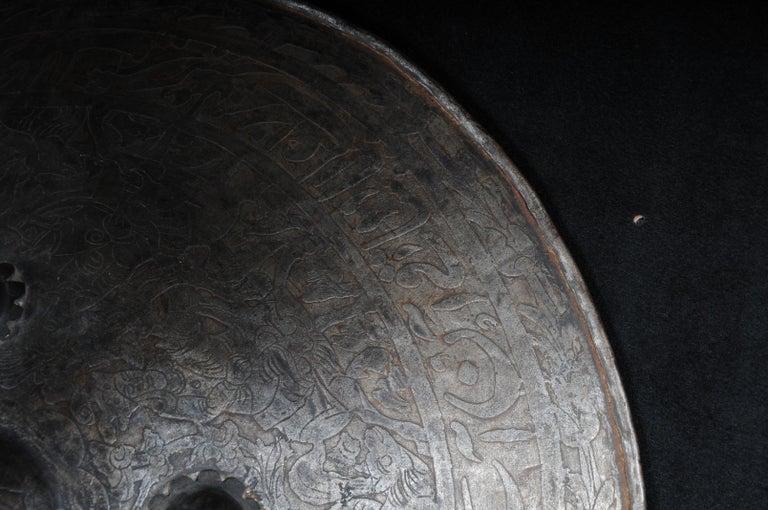 19th Century Antique Persian Battle Shield For Sale 1