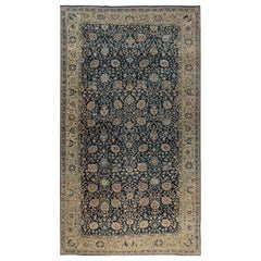 19th Century Antique Persian Tabriz Carpet