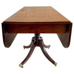 19th Century Antique Regency Mahogany Pembroke Table