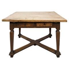 19th Century Antique Scandinavian Farm Table