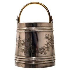 19th Century Antique Silver Russian Ice Bucket St Petersburg circa 1895 P Ratkov