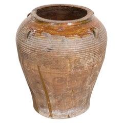19th Century Antique Spanish Terracotta Olive Jar