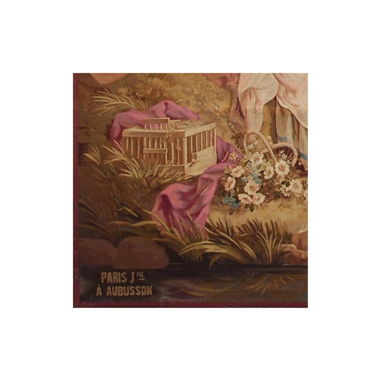 French 19th Century Antique Tapestry Cartoon by François Boucher For Sale