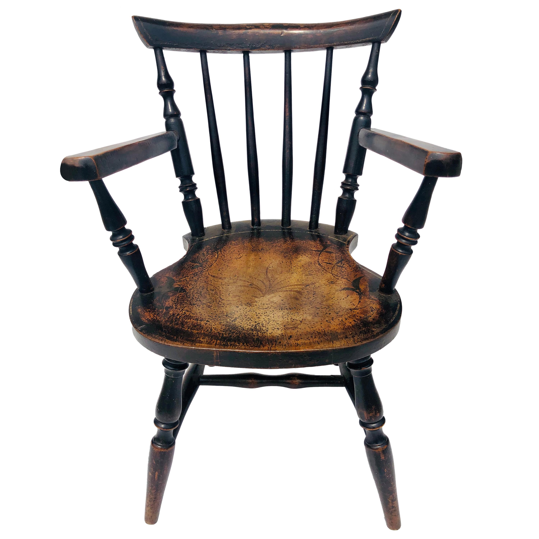 19th Century Antique Victorian Child's Chair