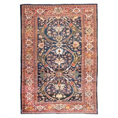 19th Century Antique Ziegler Sultanabad Wool Rug