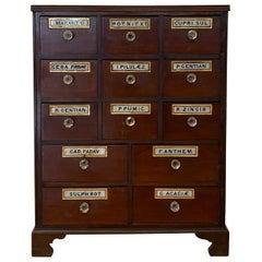 19th Century Apothecary / Medicine Cabinet