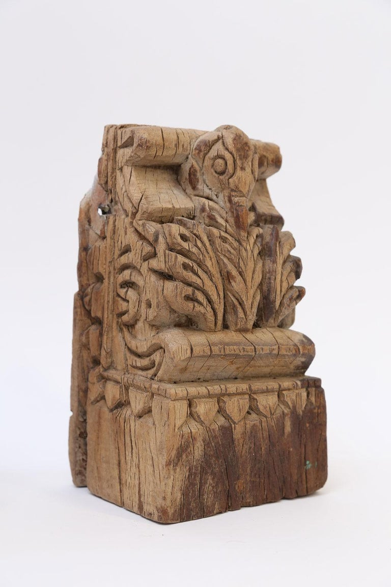 Hand-Carved 19th Century Architectural Fragment For Sale