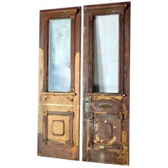 19th Century Architectural Salvage Decorative Entry Doors