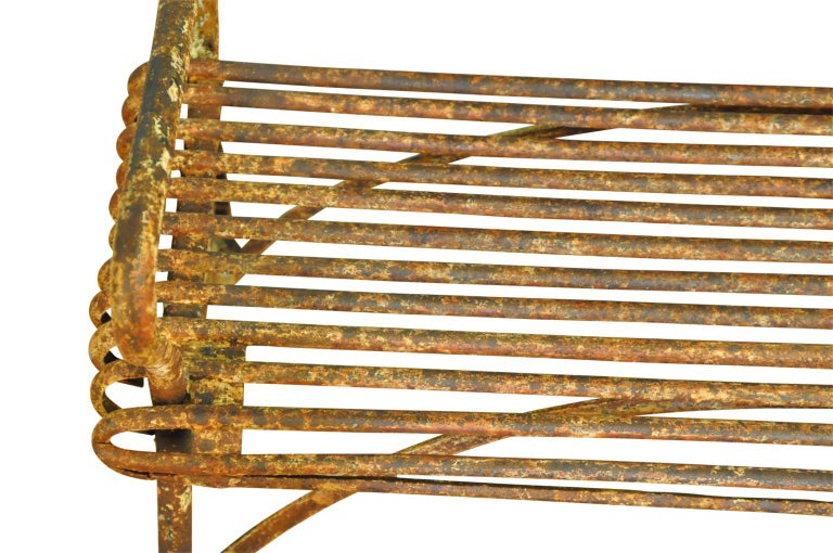 19th Century Arras Garden Bench For Sale 2