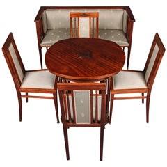 19th Century Art Nouveau Seat Group Living Room Sets
