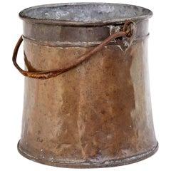 19th Century Arts & Crafts Copper Pail