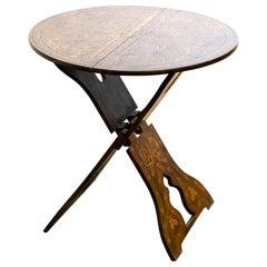 19th Century Arts & Crafts Moorish Influenced Folding Table