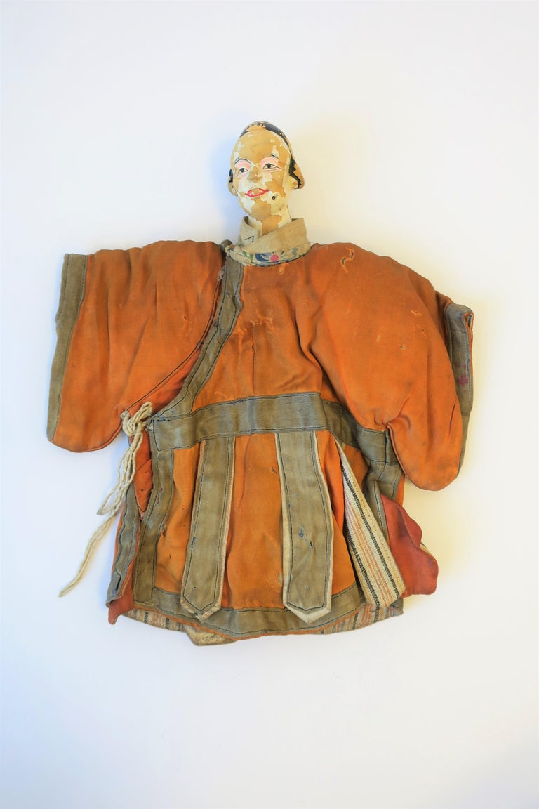 Japanese 19th Century Asian Doll For Sale