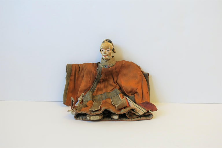 19th Century Asian Doll In Fair Condition For Sale In New York, NY