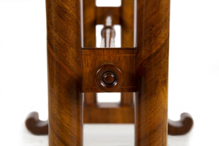 19th Century Austrian Biedermeier Antique Writing Table Desk, circa 1825-1845 For Sale 7