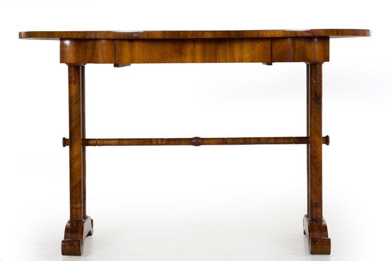 19th Century Austrian Biedermeier Antique Writing Table Desk, circa 1825-1845 For Sale 8