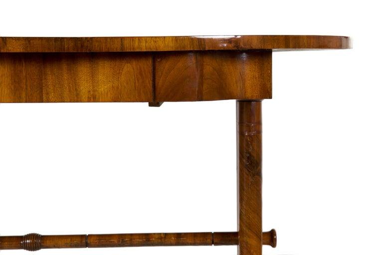 19th Century Austrian Biedermeier Antique Writing Table Desk, circa 1825-1845 For Sale 9