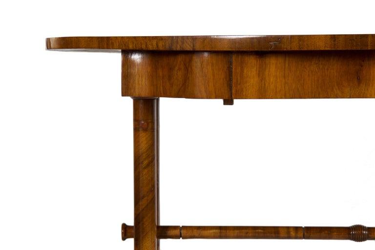 19th Century Austrian Biedermeier Antique Writing Table Desk, circa 1825-1845 For Sale 10