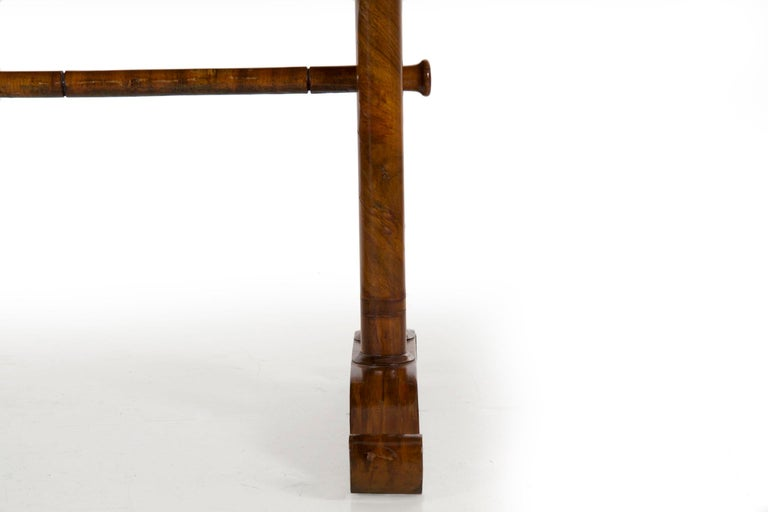 19th Century Austrian Biedermeier Antique Writing Table Desk, circa 1825-1845 For Sale 12