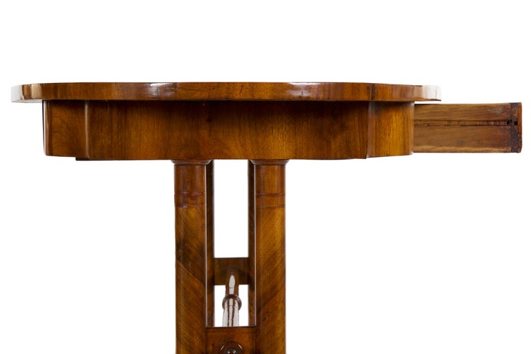 19th Century Austrian Biedermeier Antique Writing Table Desk, circa 1825-1845 For Sale 15