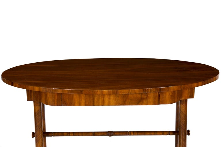 19th Century Austrian Biedermeier Antique Writing Table Desk, circa 1825-1845 In Good Condition For Sale In Shippensburg, PA