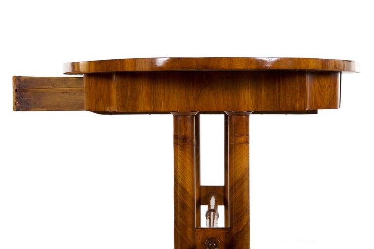 19th Century Austrian Biedermeier Antique Writing Table Desk, circa 1825-1845 For Sale 5