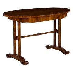 19th Century Austrian Biedermeier Antique Writing Table Desk, circa 1825-1845
