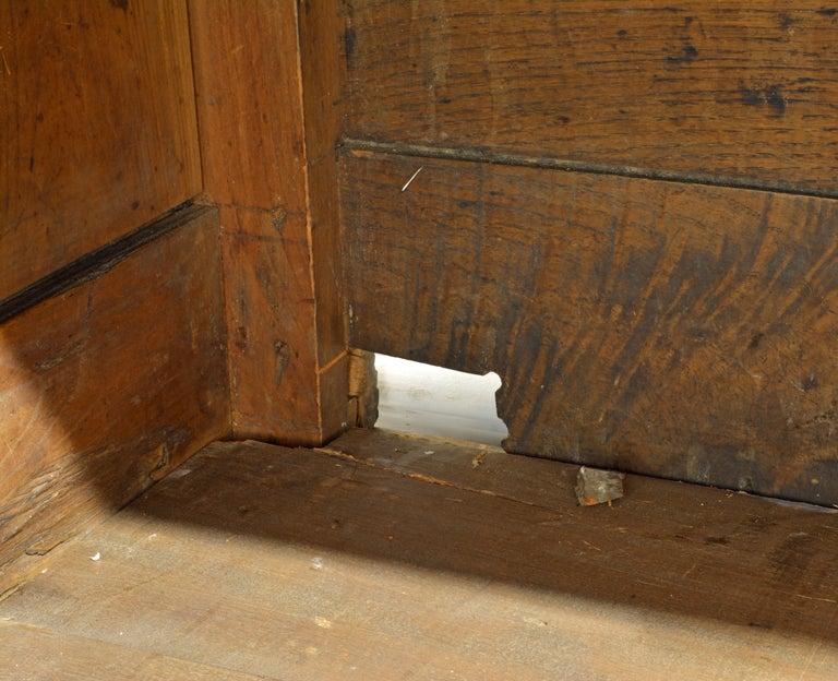 19th Century Austrian Biedermeier Fruit Wood Step Back Two Part Cubboard 7