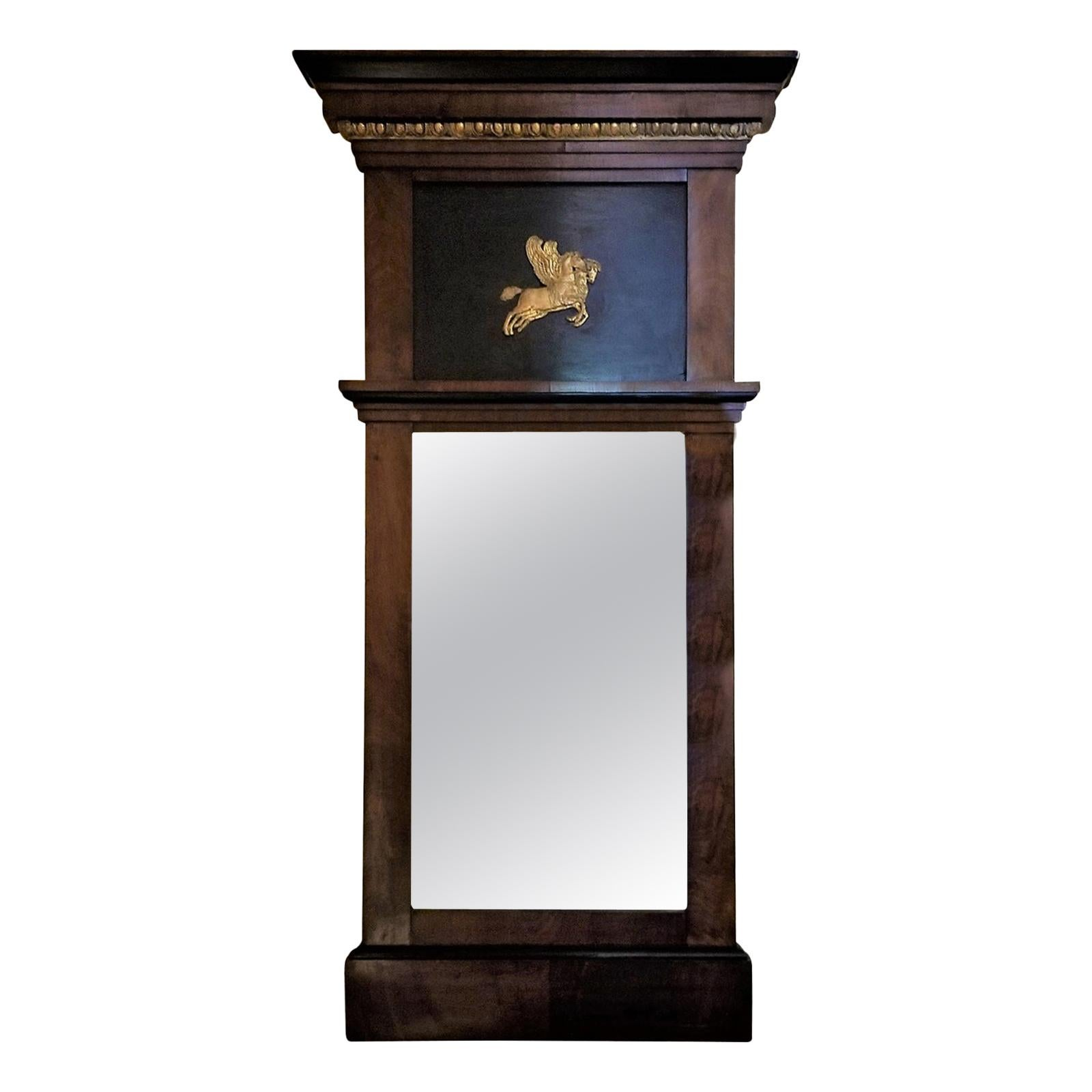 19th Century Austrian Biedermeier Mirror