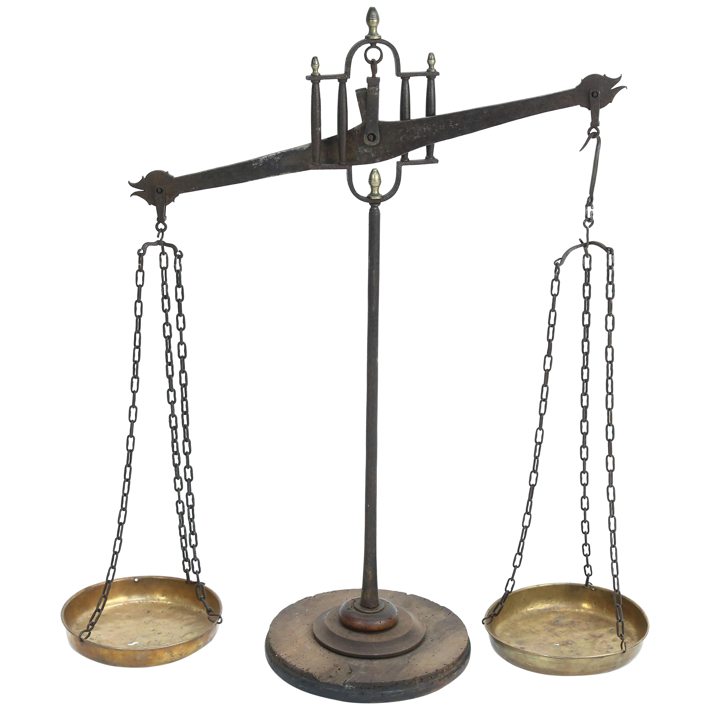 19th Century Balancing Scale