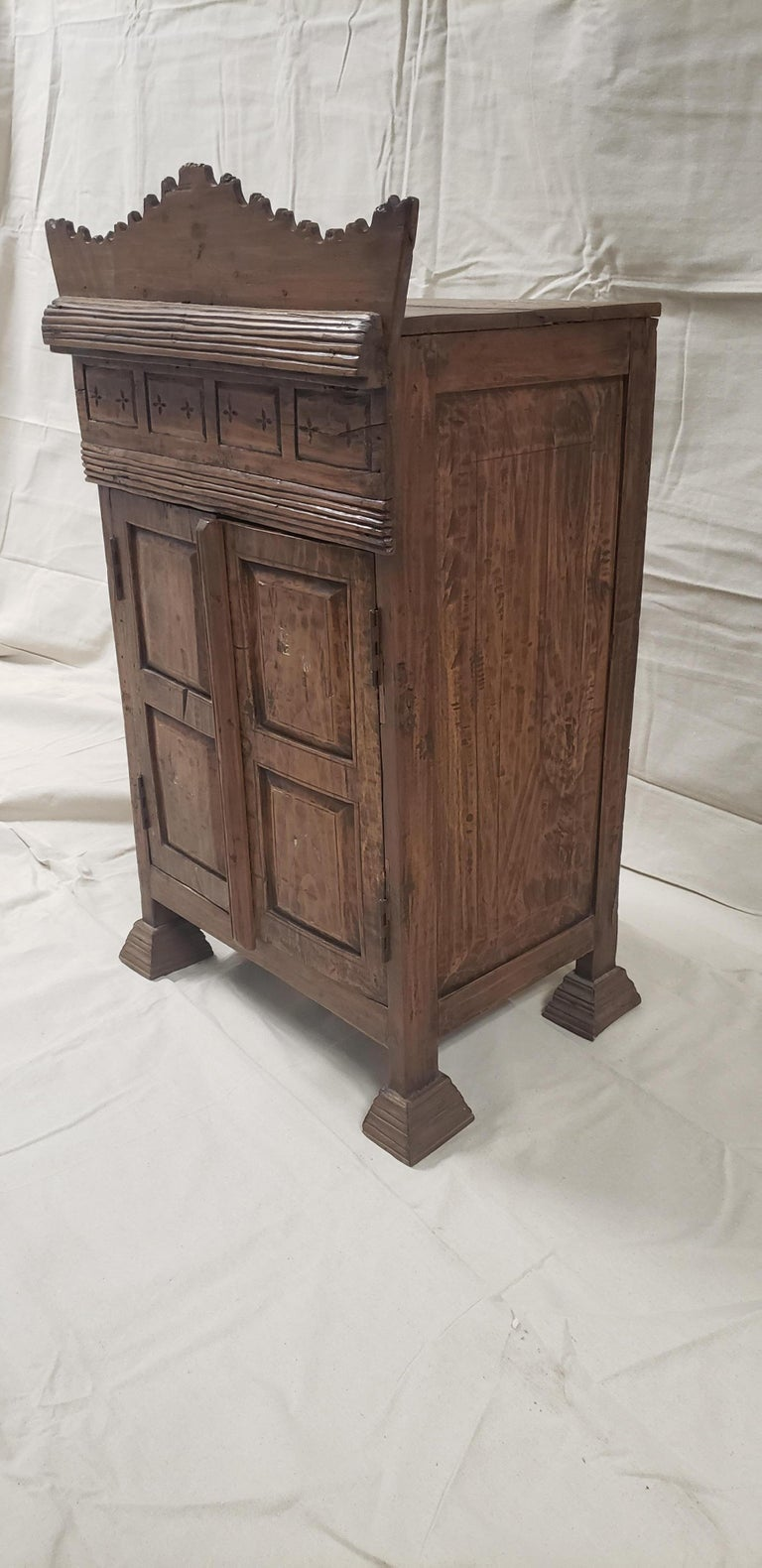 19th century Balinese temple cabinet.