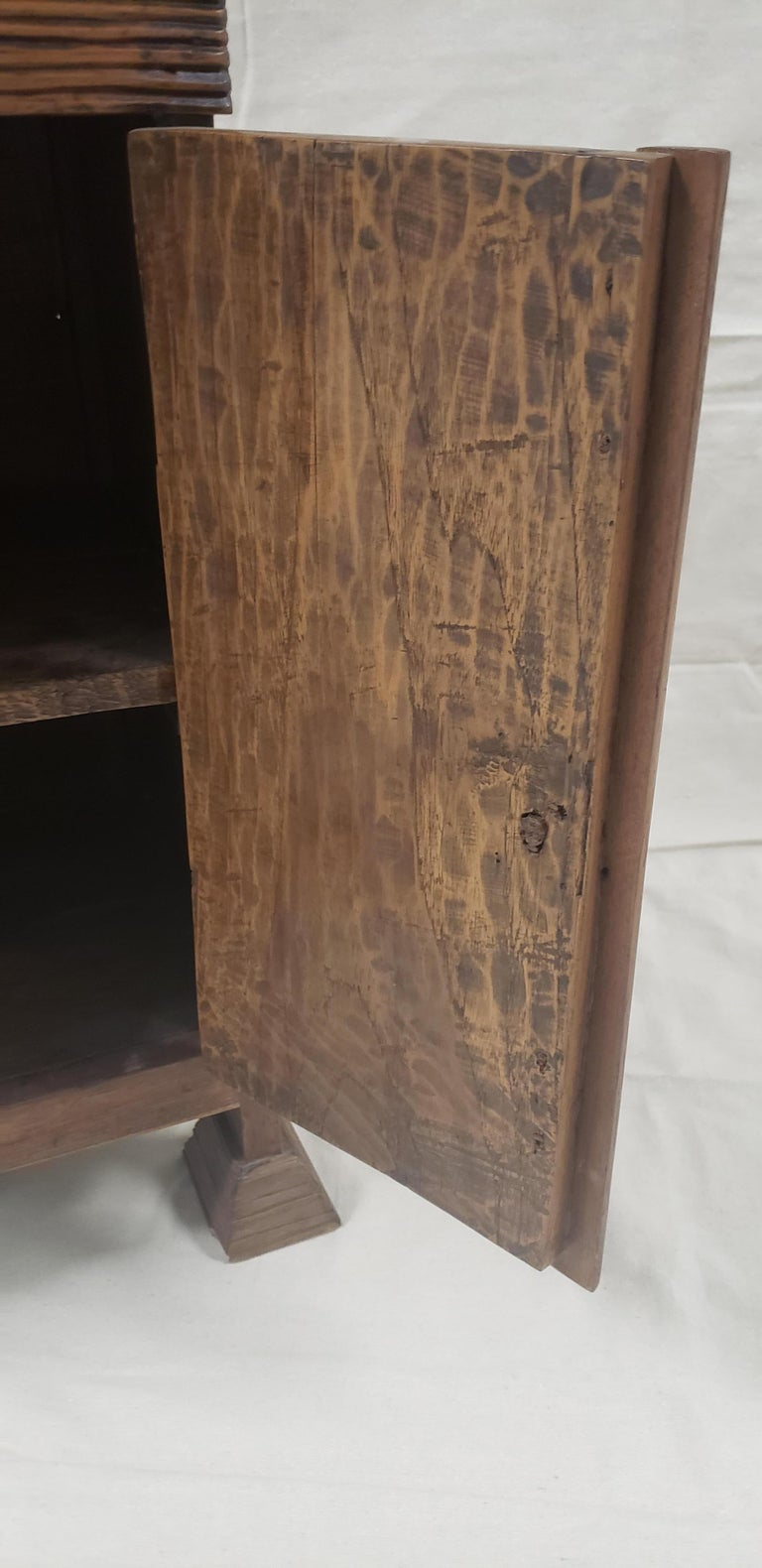 Wood 19th Century Balinese Temple Cabinet For Sale