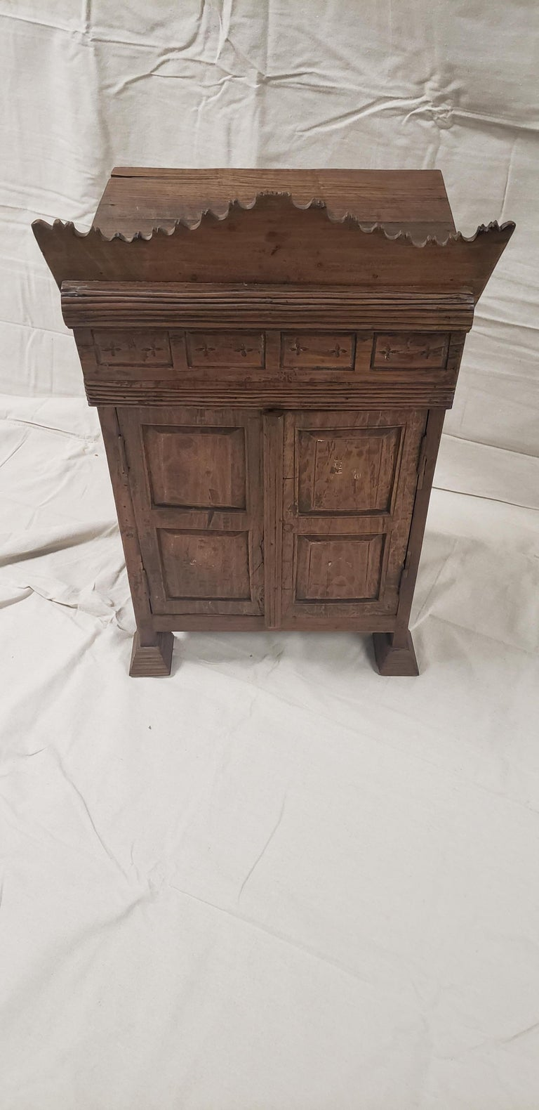 19th Century Balinese Temple Cabinet For Sale 1