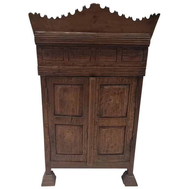 19th Century Balinese Temple Cabinet For Sale