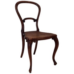 19th Century Balloon Back Bedroom Side Chair