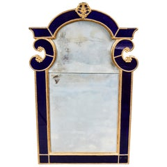 19th Century, Baltic Wall Mirror