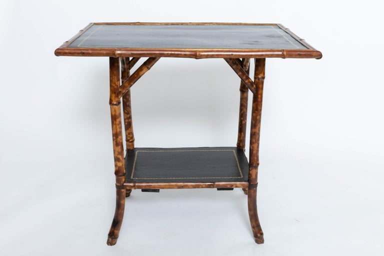 19th Century Bamboo Side Table For Sale 3