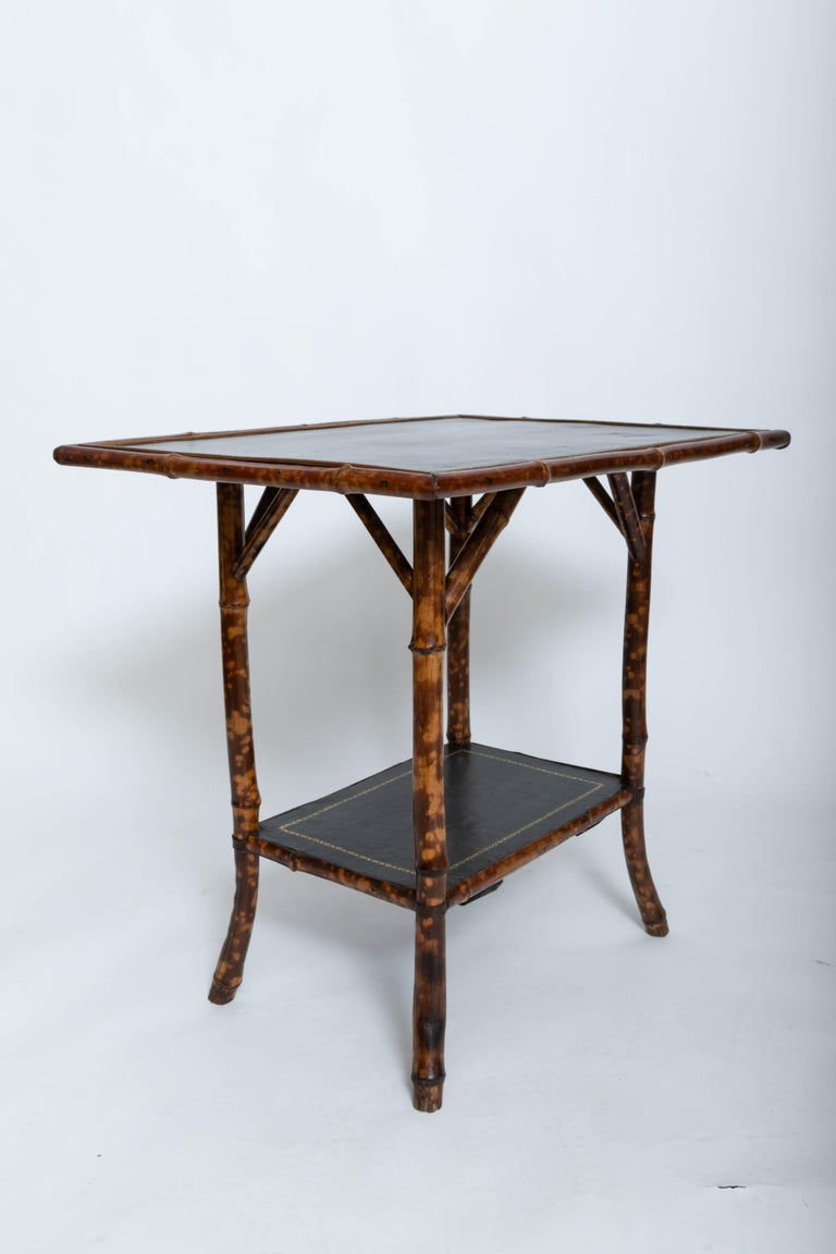 Late 19th Century 19th Century Bamboo Side Table For Sale