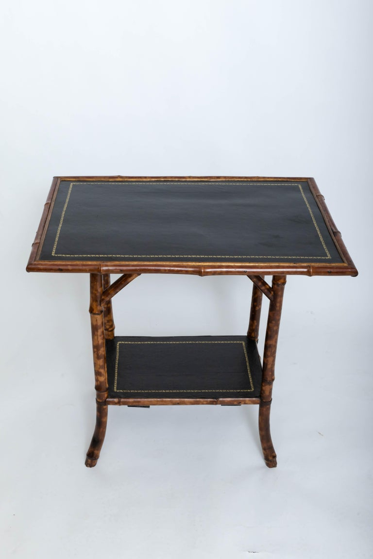 19th Century Bamboo Side Table For Sale 1