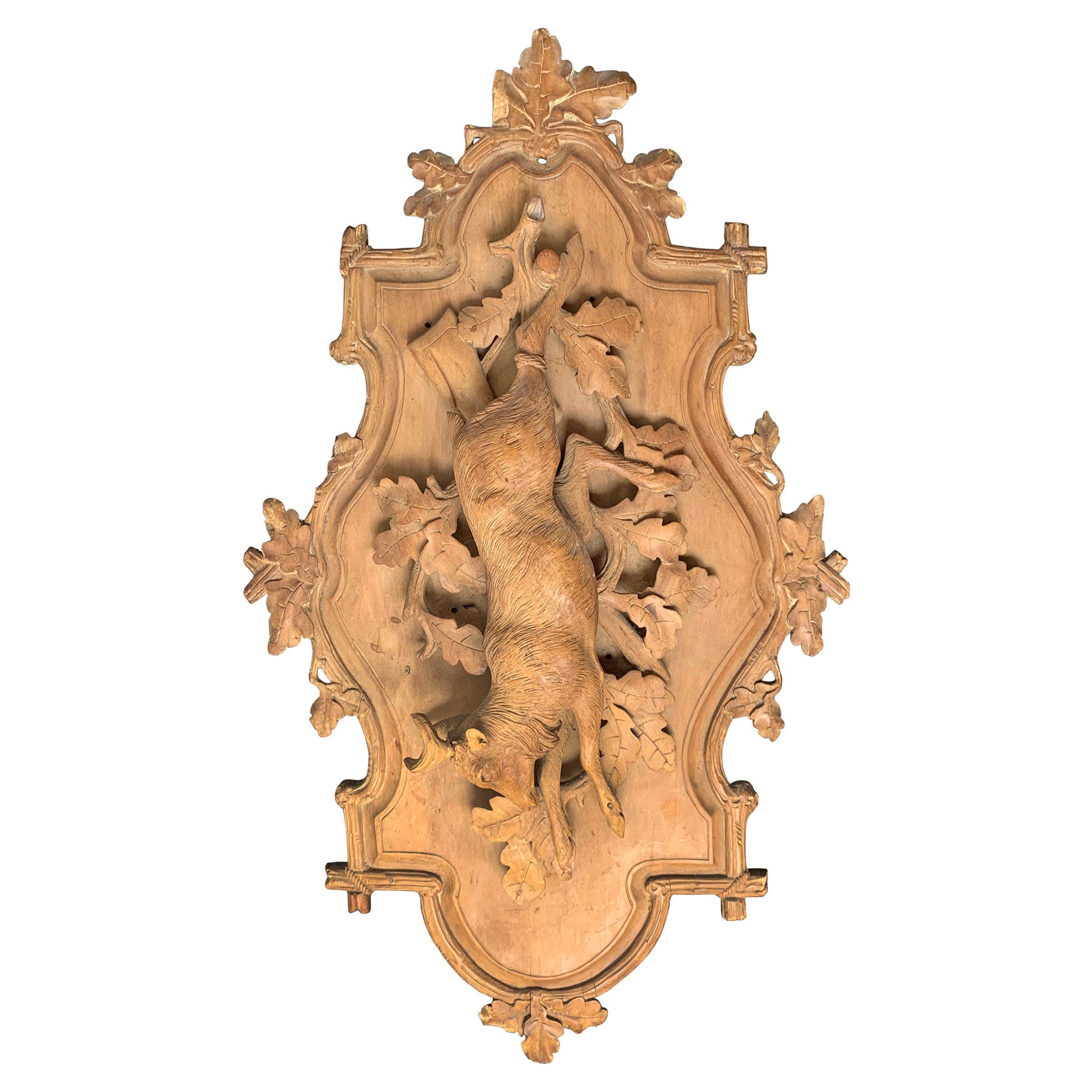 19th Century Bavarian Hunt Plaque