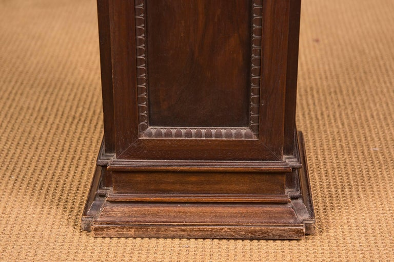 Oak 19th Century, Beautiful Antique Column Pedestal For Sale