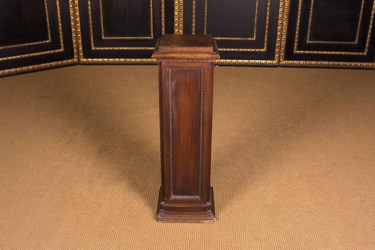 19th Century, Beautiful Antique Column Pedestal For Sale 1