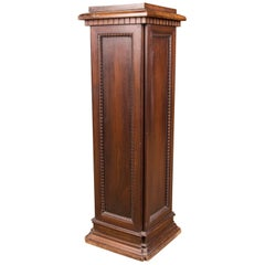 19th Century, Beautiful Antique Column Pedestal