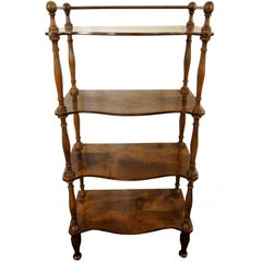 19th Century Beech Shelves or Étagère